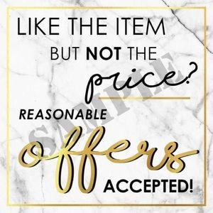Other - Make me an Offer! I ship super quick!